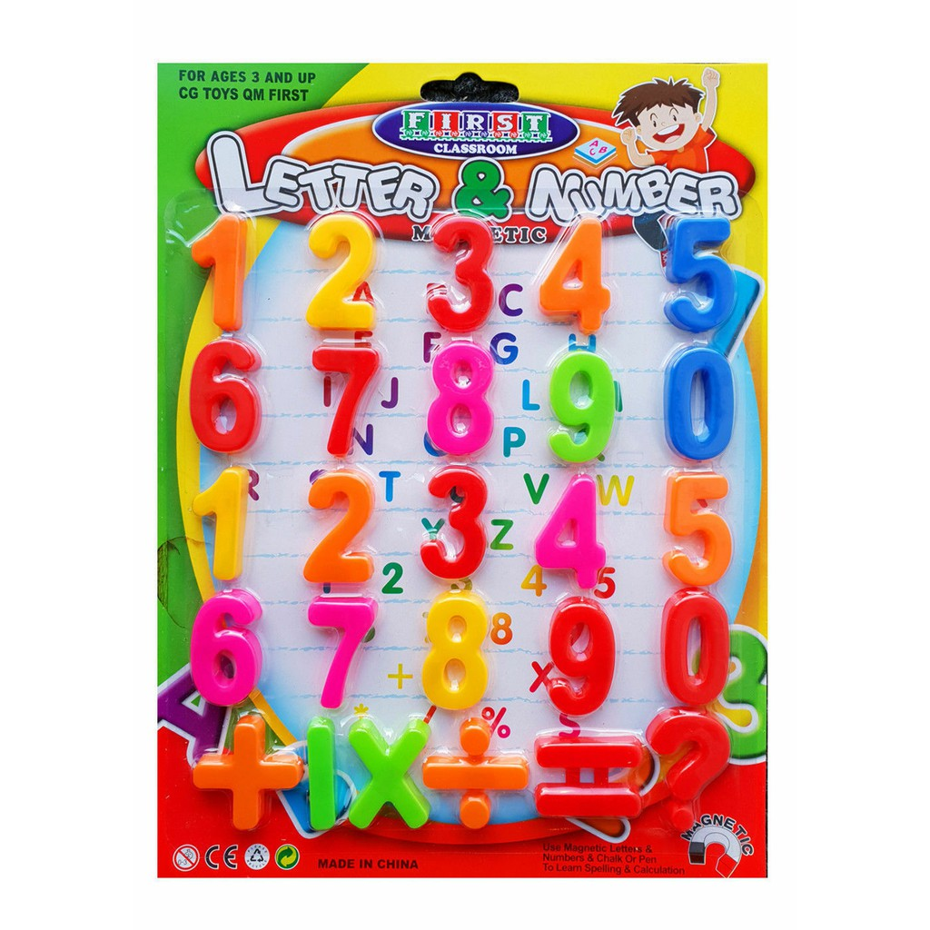 Letter & Number Counting 123 Large Patta(8102)