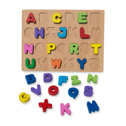 Wooden Toy Emboss Capital Alphabets