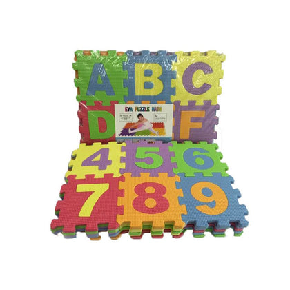 Eva Puzzle Foaming Mat Alphabet and Numbers, educational toys