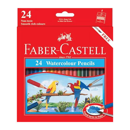 Faber-Castell Water Colour Pencils 24Pcs