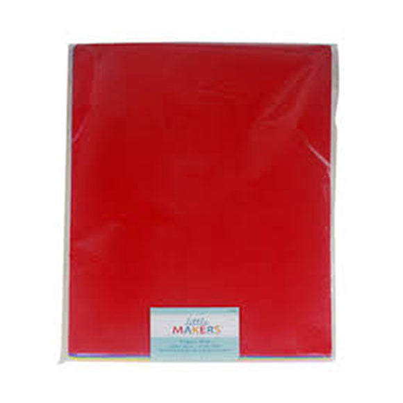 Foaming Sheet Simple A/4 - Red