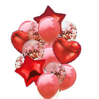 Foil Balloon 14 Pcs