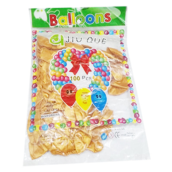 Balloon Golden 1Pkt (100pcs)