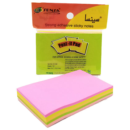 Post-it Pad Mix Color 2x3 Sensa