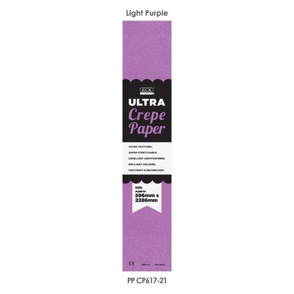 Crepe Paper Light Purple # 9