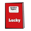 Lucky Attendance Register 92 P No.3