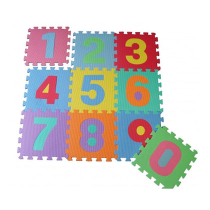 Eva Puzzle Foaming Mat Numbers 0 to 9