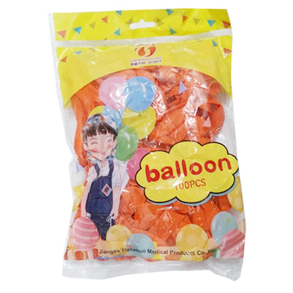 Balloon Orange 1Pkt (100pcs)
