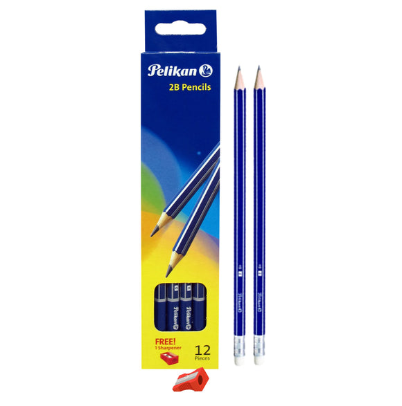 Pelikan Pencil With Eraser & Sharpener