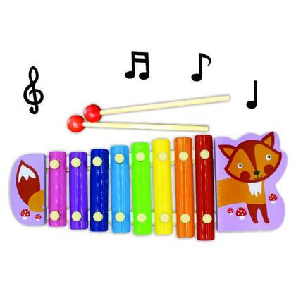 Cartoon Animal Hand Knock Piano Series 8 Tones