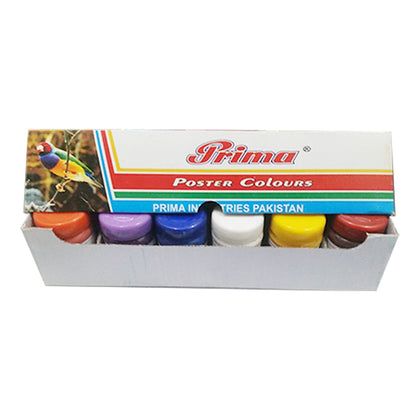 Poster color Set 12pcs Prima