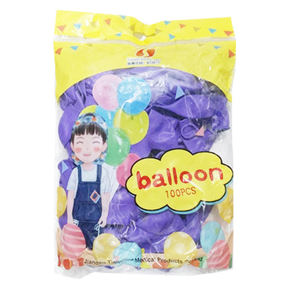 Balloon Purple 1Pkt (100pcs)