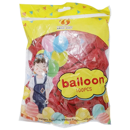 Balloon Red 1Pkt (100pcs)
