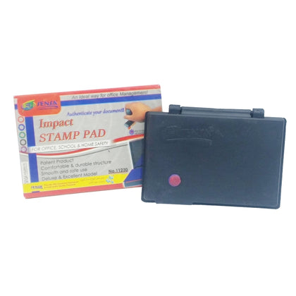 Sensa Stamp Pad Plastic Red  Body(impact-11230)