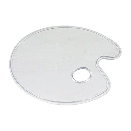 Color Mixing Plate Transparent Flat
