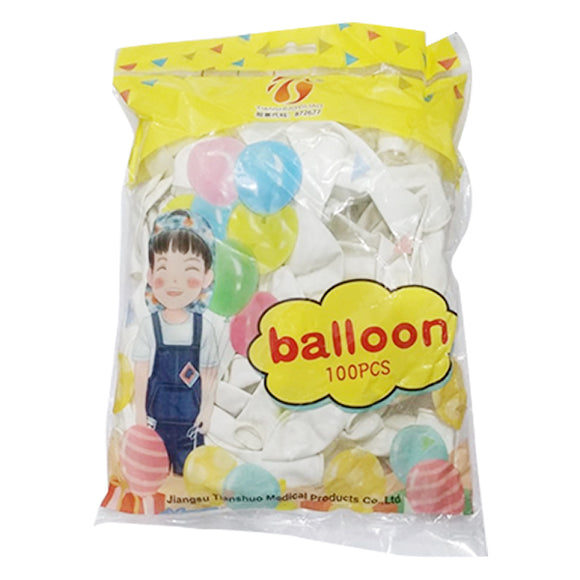 Balloon White 1Pkt (100pcs)