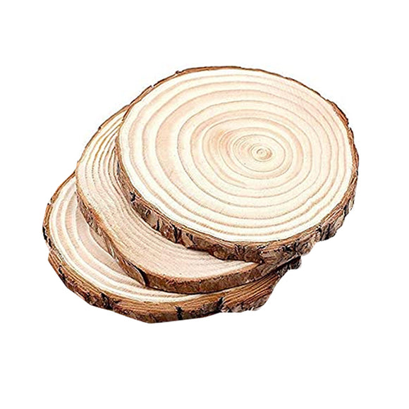 Wooden Slice Round 2 Inch (3 Pcs)