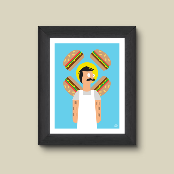 Print - Shrine of the Burger