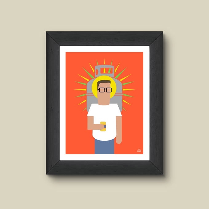 Print - Shrine of Propane