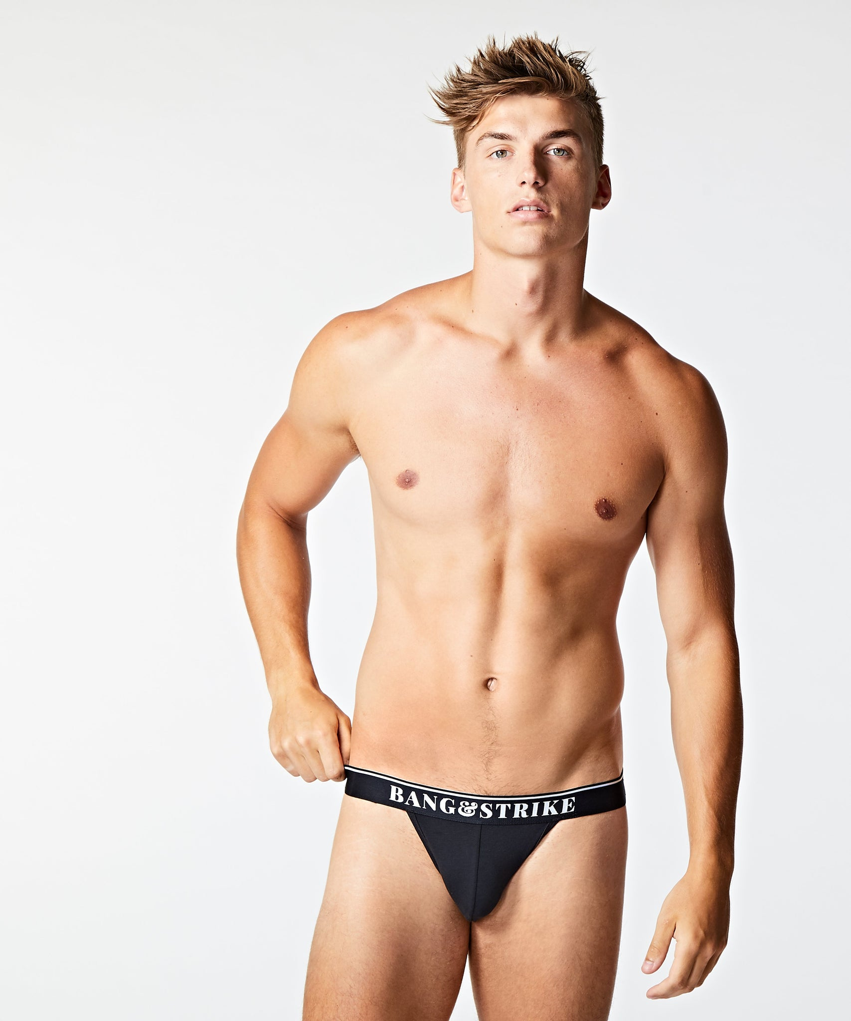 Core Cotton Jockstrap Black