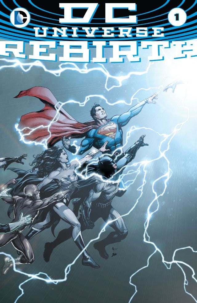 New Beginnings - DC Universe Rebirth #1
