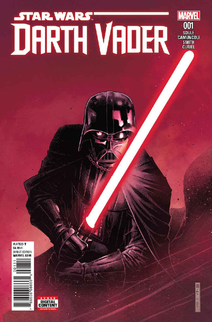 Sneak peek! All-new Darth Vader #1, coming in June!
