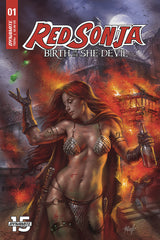 Red Sonja Birth Of She Devil #1 Cvr A Parrillo