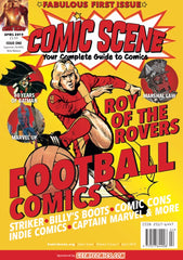 Comic Scene UK Comic Magazine Vol 2 #1