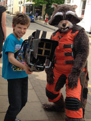 Rocket Raccoon cosplay, Free Comic Book Day 2016