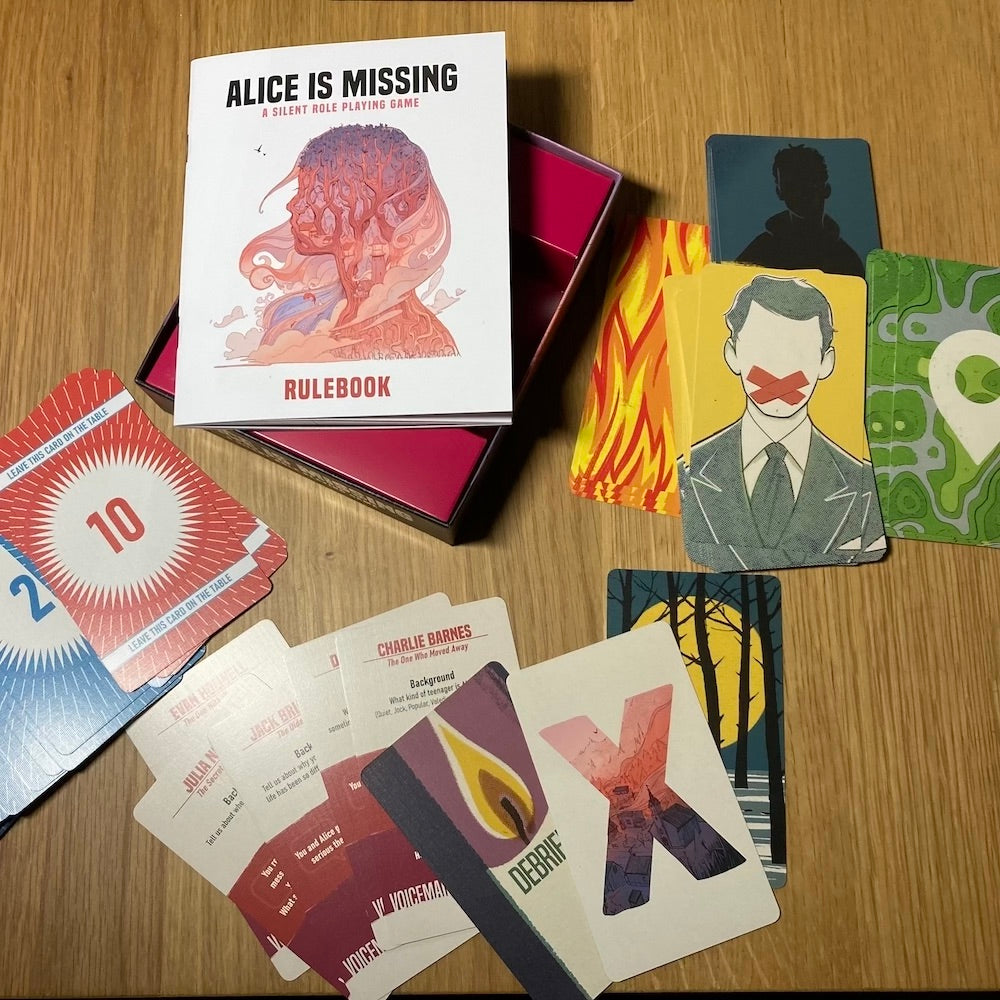 Alice Is Missing RPG - contents