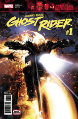 Damnation Johnny Blaze Ghost Rider #1