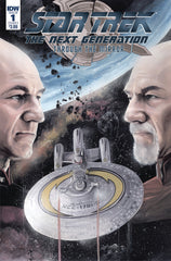 Star Trek The Next Generation Through The Mirror #1