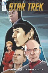 Star Trek Q Conflict #1 (of 6)