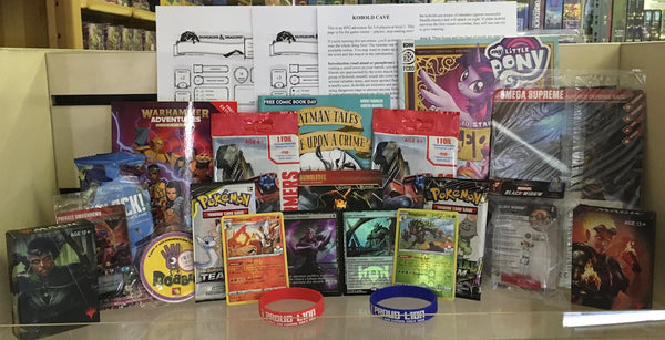 Osiris Games Kids Pack Contents