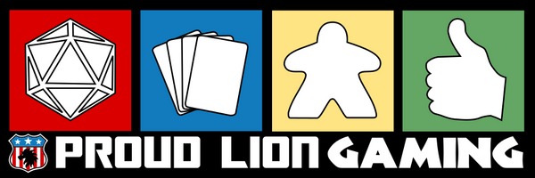 Proud Lion Gaming - Tabletop and role playing games