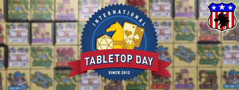 Tabletop Day 2016 with Proud Lion - gaming and prizes all day on Saturday 30th April