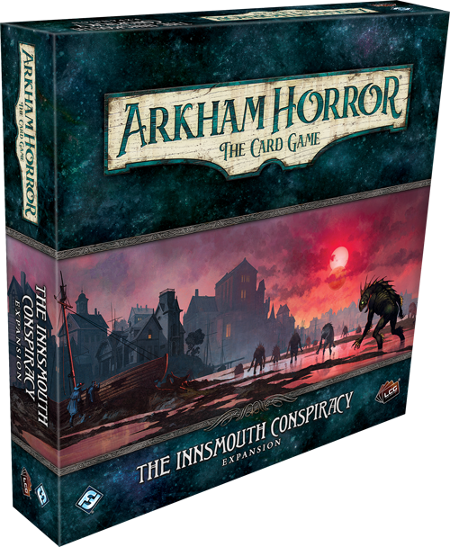ARKHAM HORROR: THE CARD GAME LCG THE INNSMOUTH CONSPIRACY EXPANSION