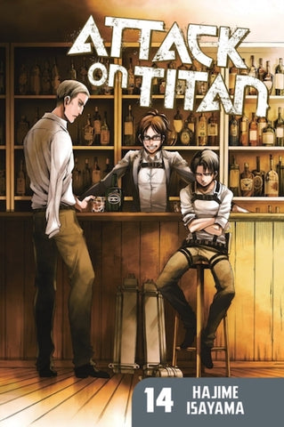ATTACK ON TITAN VOL 14 GN
