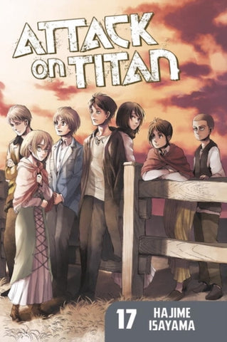 ATTACK ON TITAN VOL 17 GN