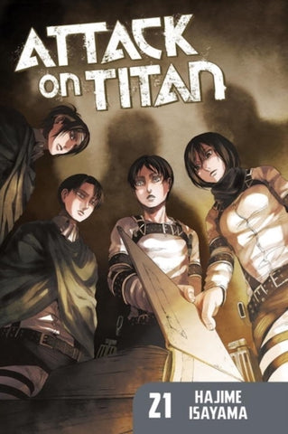 ATTACK ON TITAN VOL 21 GN