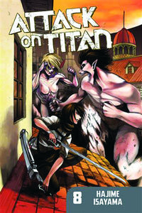 ATTACK ON TITAN VOL 08 GN