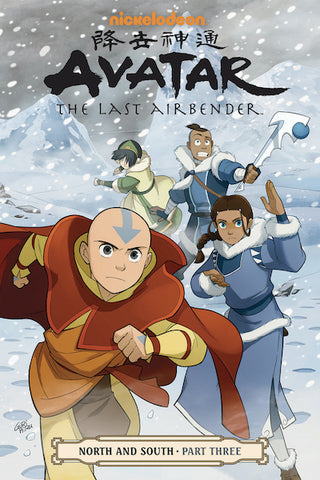 AVATAR LAST AIRBENDER VOL 14 NORTH AND SOUTH PART 3 TP