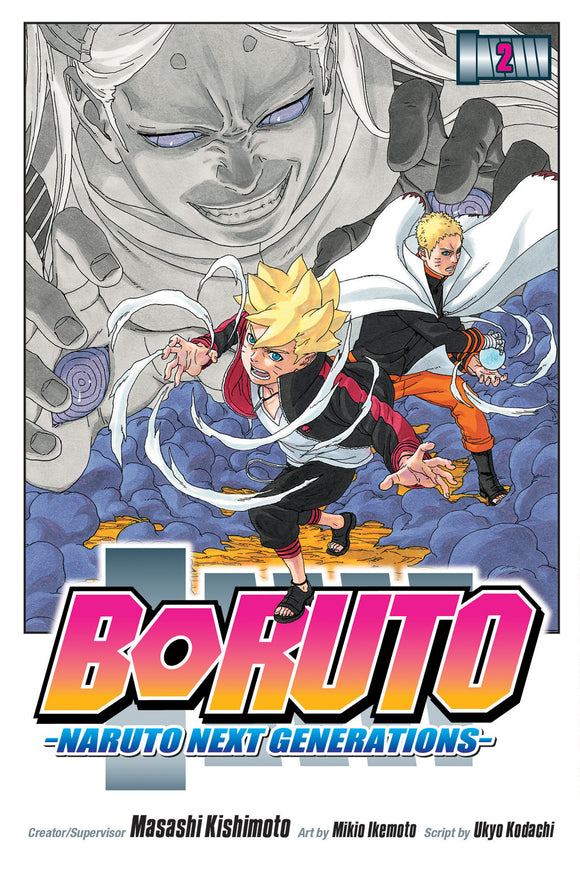 BORUTO NARUTO NEXT GENERATIONS VOL 02 GN