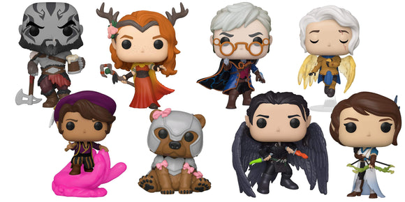 [PREORDER] CRITICAL ROLE VOX MACHINA POP! VINYL BUNDLE