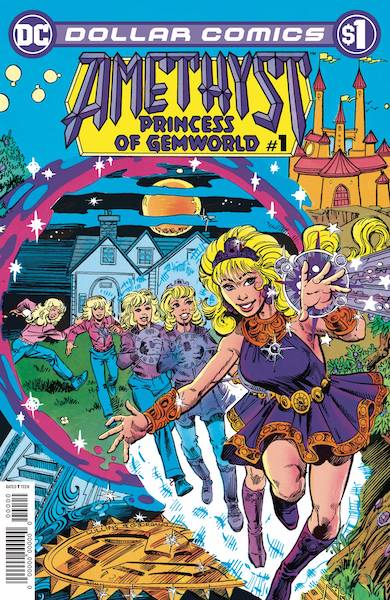 DOLLAR COMICS AMETHYST 1985 #1