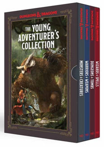 DUNGEONS & DRAGONS THE YOUNG ADVENTURER'S COLLECTION 4-BOOK TP BOX SET