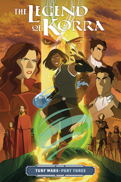 LEGEND OF KORRA VOL 03 TURF WARS PART 3 TP