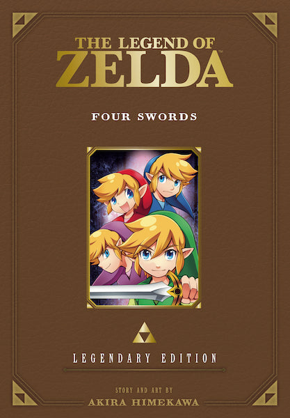 LEGEND OF ZELDA LEGENDARY EDITION VOL 05 FOUR SWORDS GN