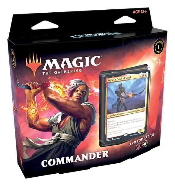 MAGIC: THE GATHERING COMMANDER LEGENDS DECK ARM FOR BATTLE