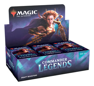 MAGIC: THE GATHERING COMMANDER LEGENDS DRAFT BOOSTER BOX